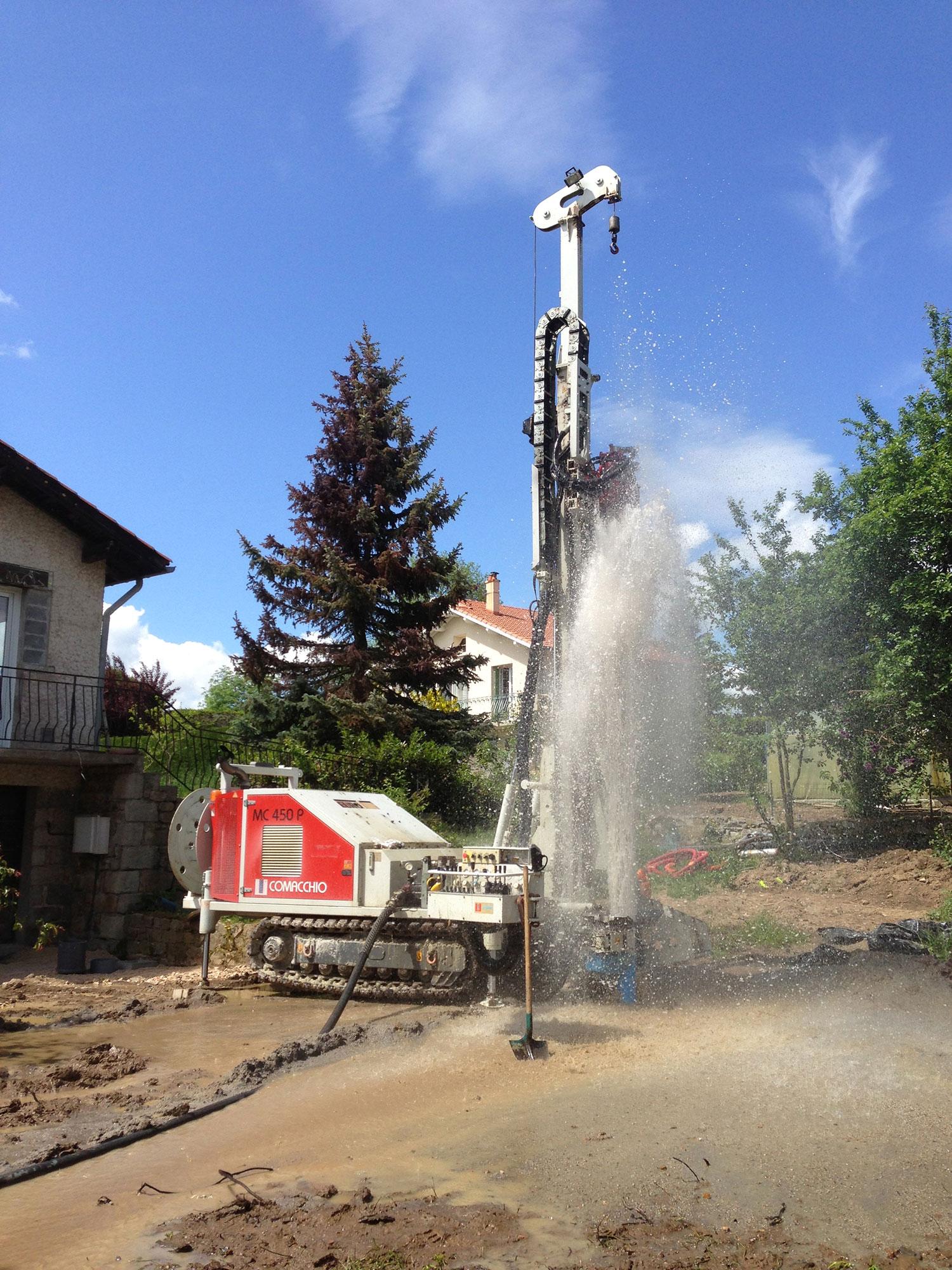 Commachio MC 450 forage d'eau